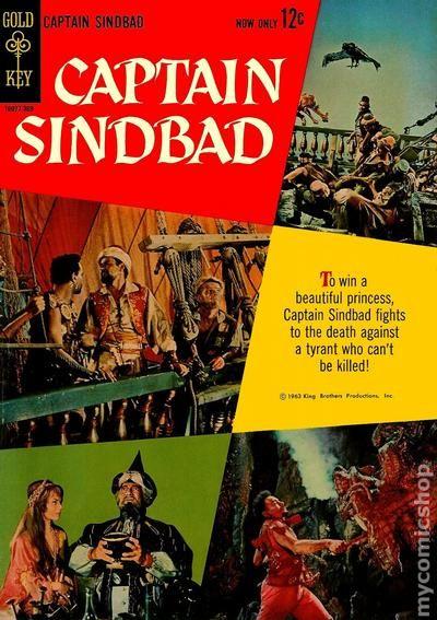 Captain Sindbad 1963 Movie Comics Comic Books