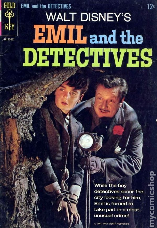 emil and the detectives 1964 movie comics comic books