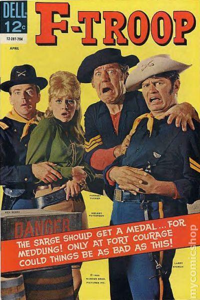 F Troop 1966 Comic Books