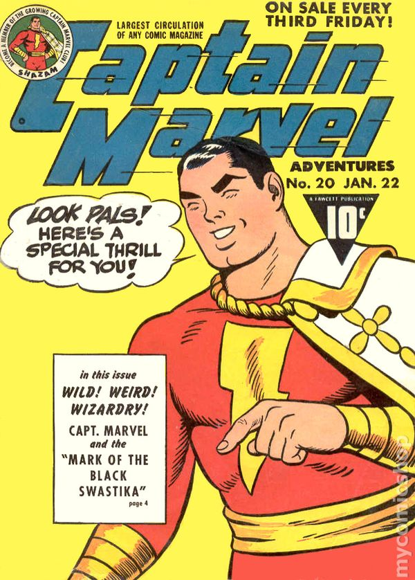 captain marvel 1941