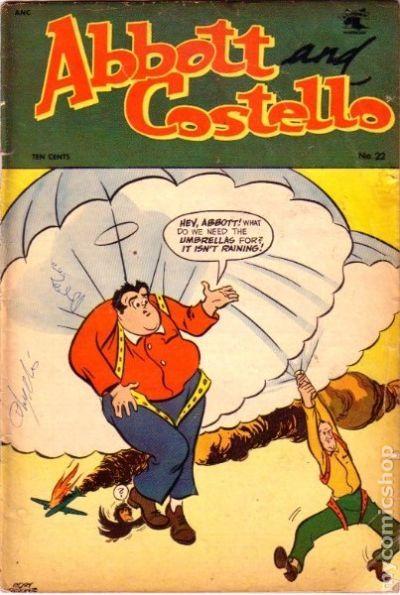 Comic Books In Parachute Paratrooper
