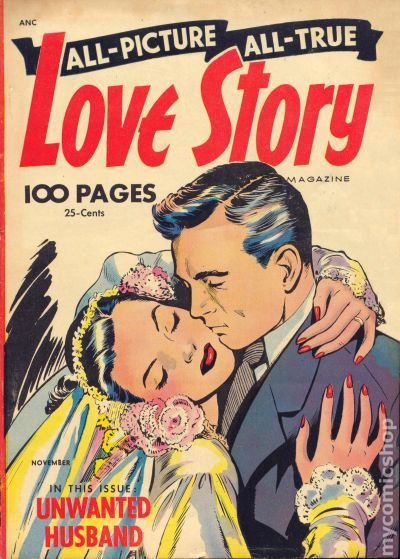 All Picture All True Love Story (1952) Comic Books
