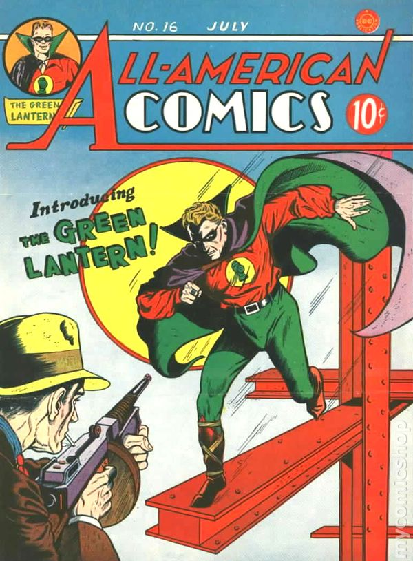 Image result for All American Comics #16 -  1940