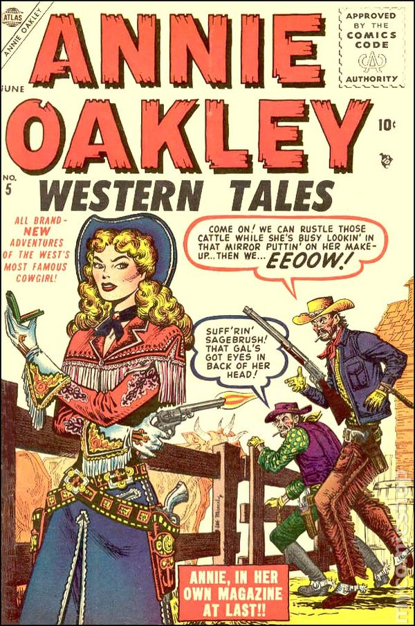 Image result for annie oakley comic book