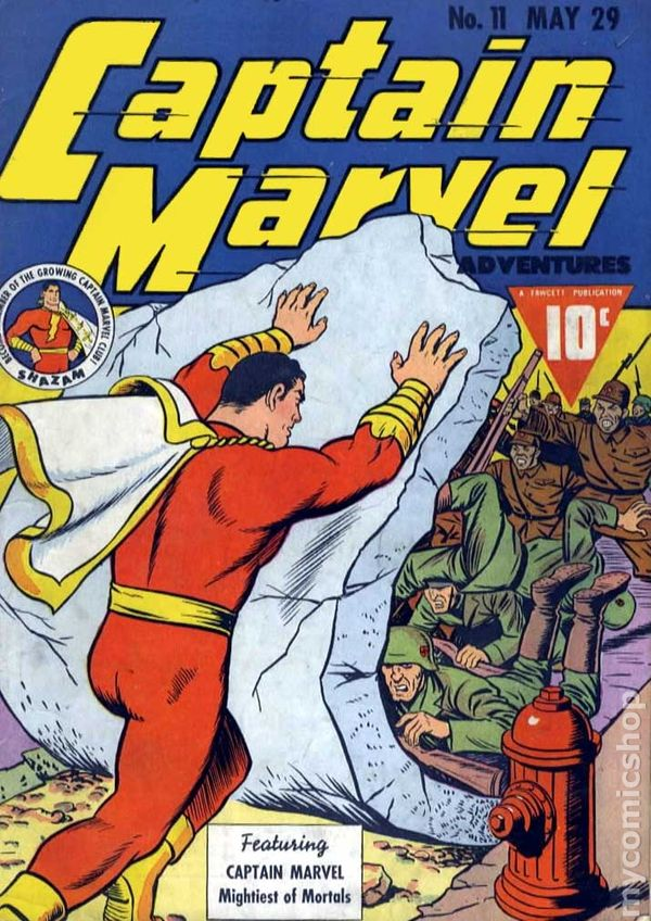 CAPTAIN MARVEL #11 BY MARVEL!!