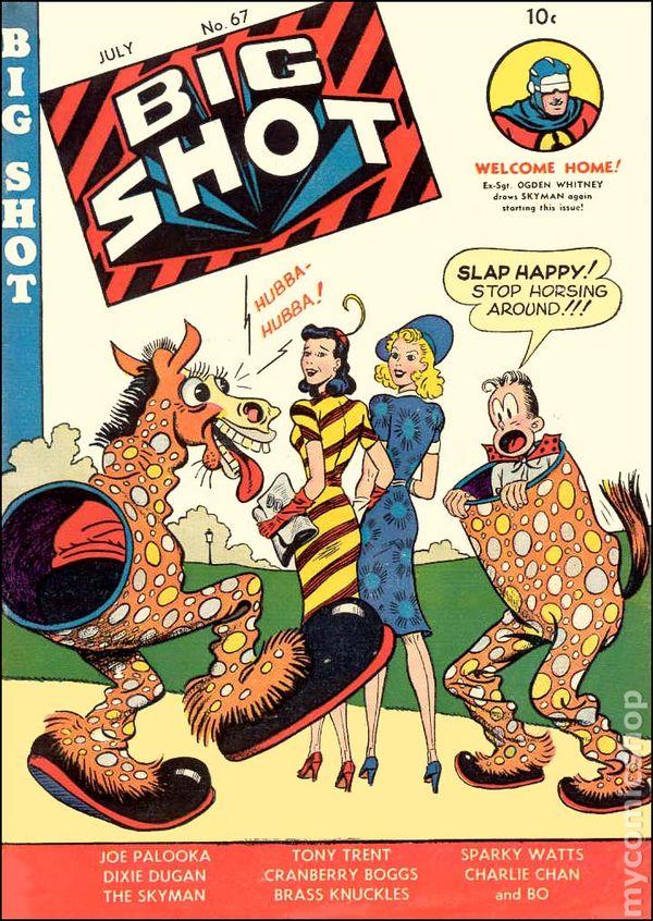 Comic Books July 1946
