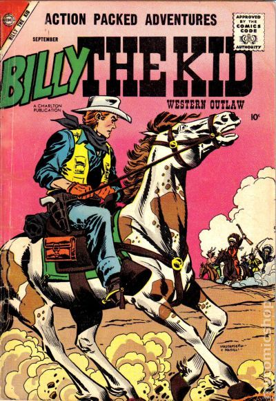 Image result for billy the kid comics