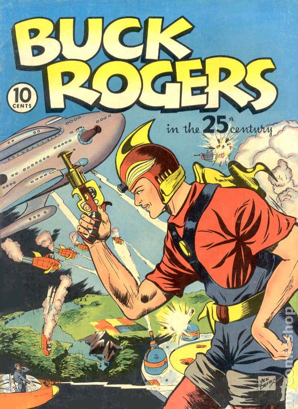 Buck Rogers 1940 Famous Funnies Comic Books