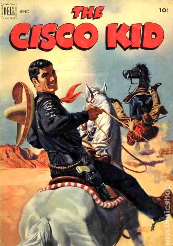 Cisco Kid 1951 Dell 12