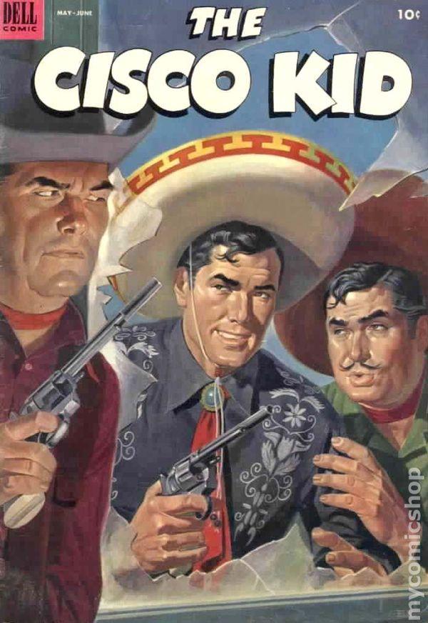 Cisco Kid 1951 Dell 15