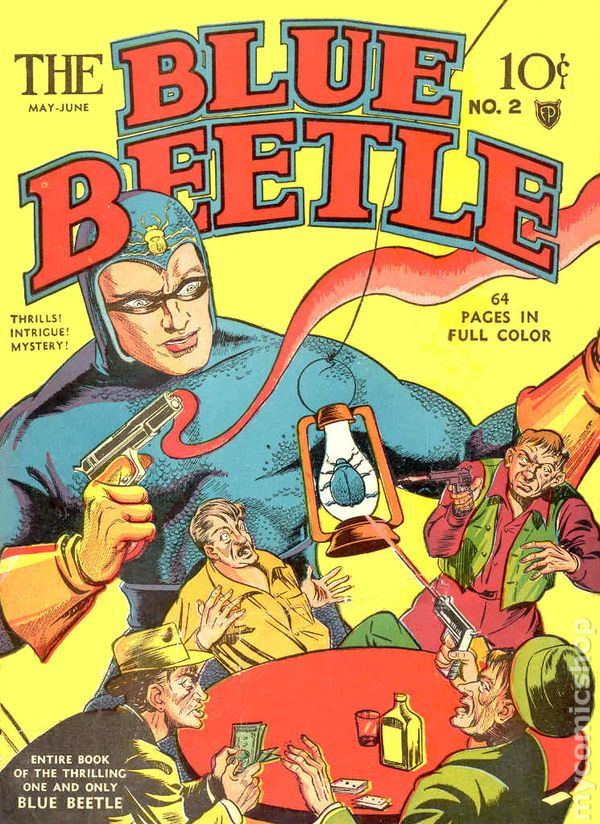 Image result for fox comics blue beetle
