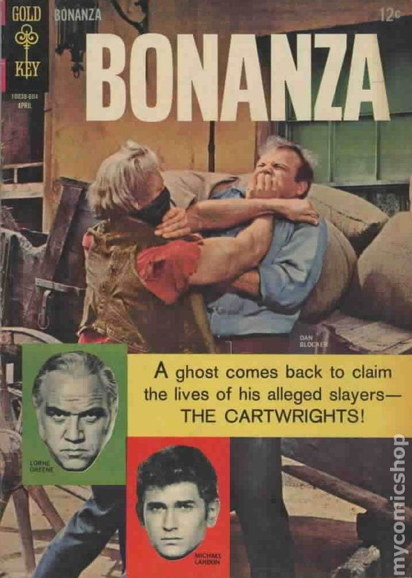 Image result for bonanza comic book