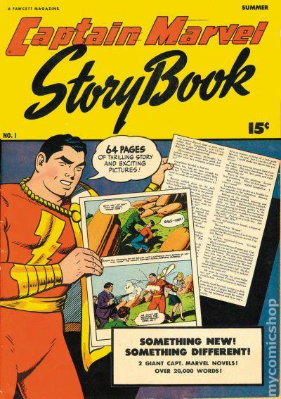 Captain Marvel Story