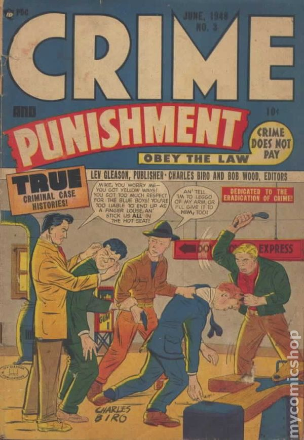 the issues of crime and punishment
