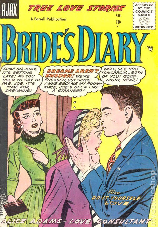 Bride S Diary 1955 Comic Books