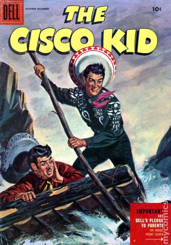 Cisco Kid 1951 Dell 29