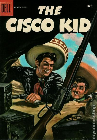 Cisco Kid 1951 Dell 30