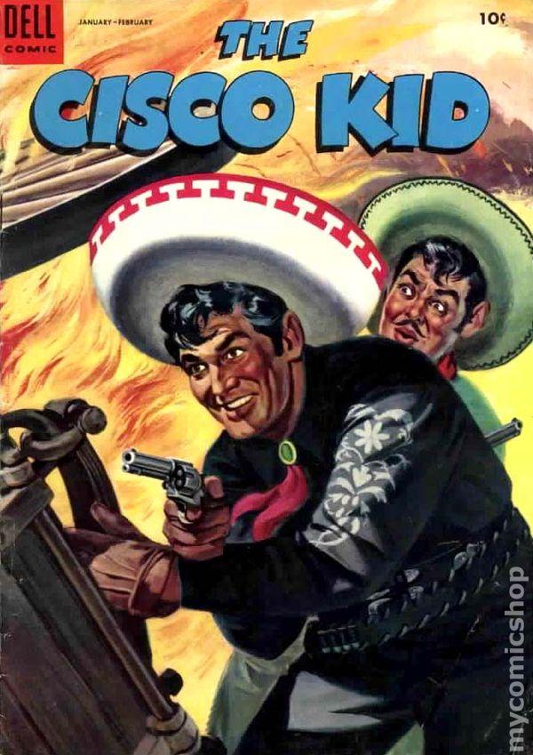 Cisco Kid 1951 Dell 25