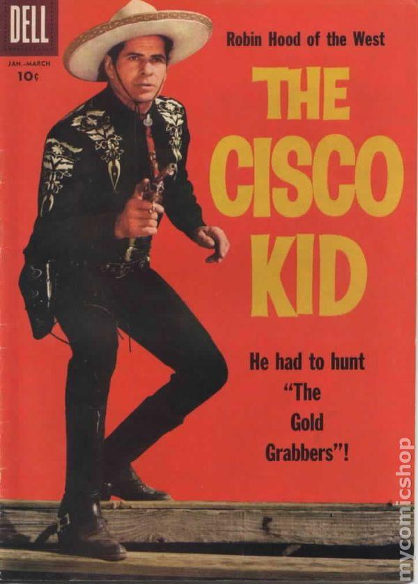 Cisco Kid 1951 Dell Comic Books 1958