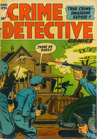 Crime Detective Comics Volume 3 1952 Comic Books