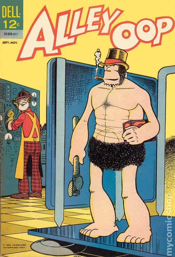 Comic books in 'Time Machine'