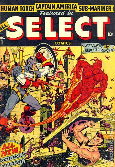 """Résultat de recherche d'images pour """"all select comics 1"""""""