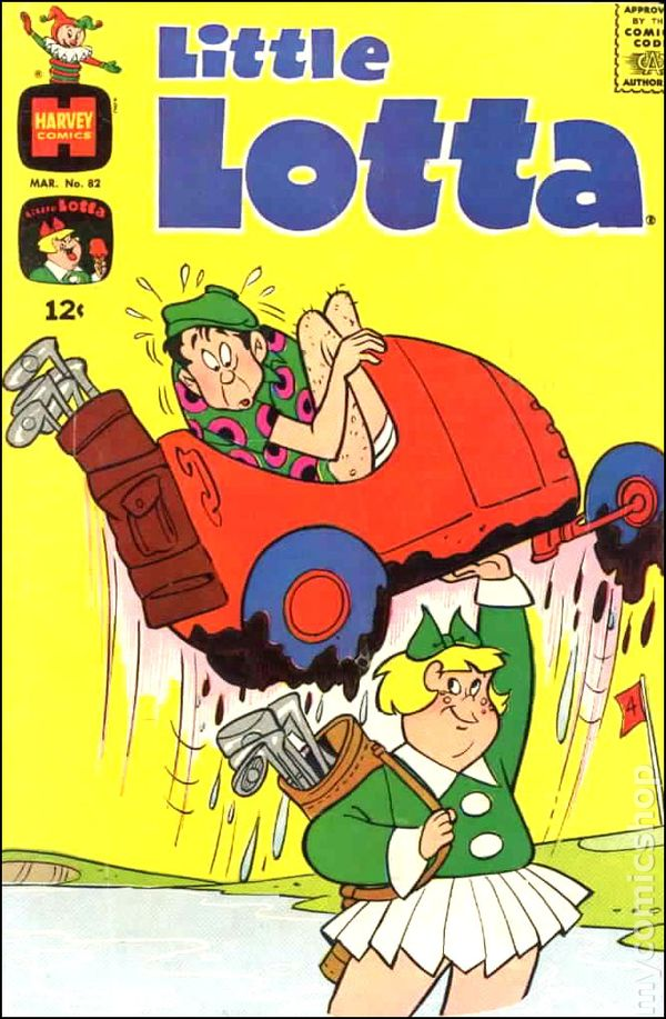 Little Lotta 1955 1st Series Comic Books