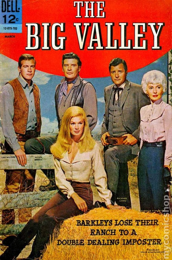 Image result for big valley comic book