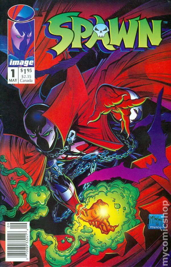 Cover B 1992 US-Comic Bagged /& Borded Spawn #288 1st Print