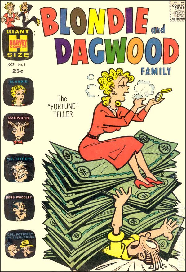 Dagwood y Blondie comic picture picture