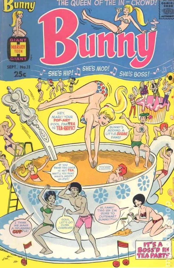 Scavenger Hunt List >> Bunny (1966) comic books