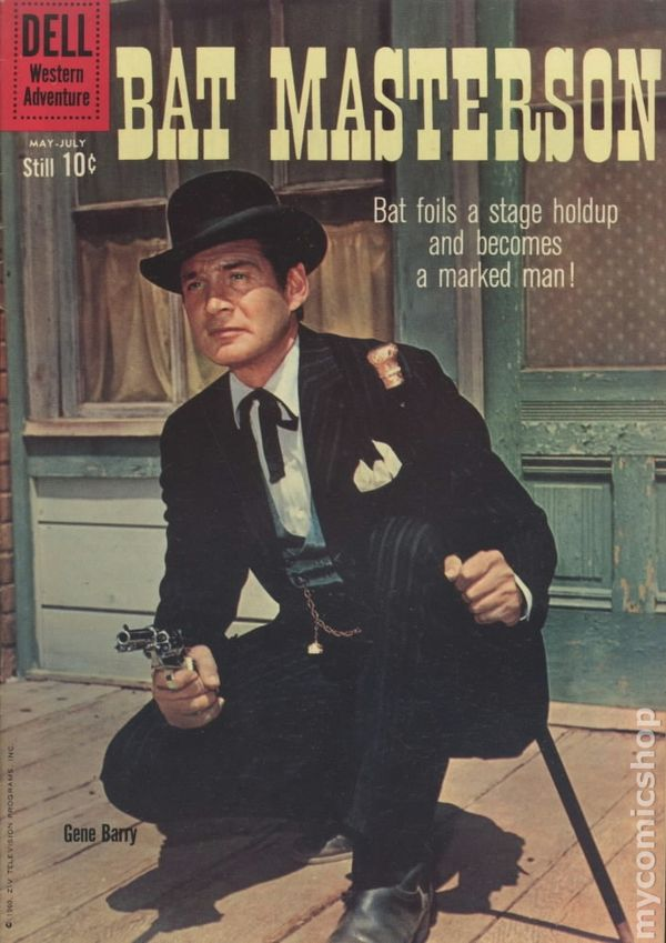 Image result for bat masterson comic book