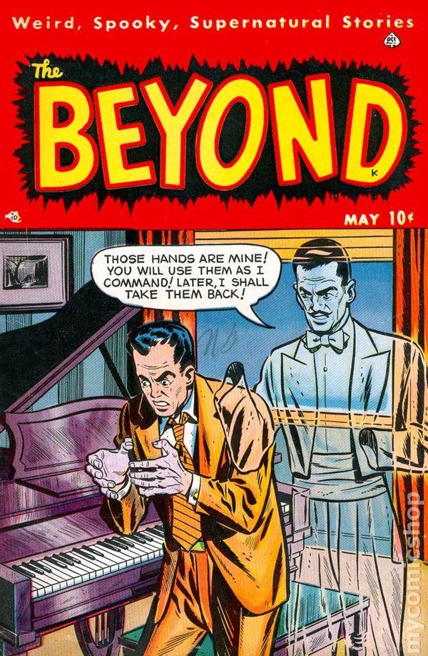 Beyond 1950 Ace Comic Books