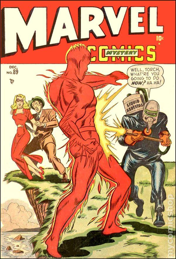 Marvel Mystery Comics 1939 Comic Books