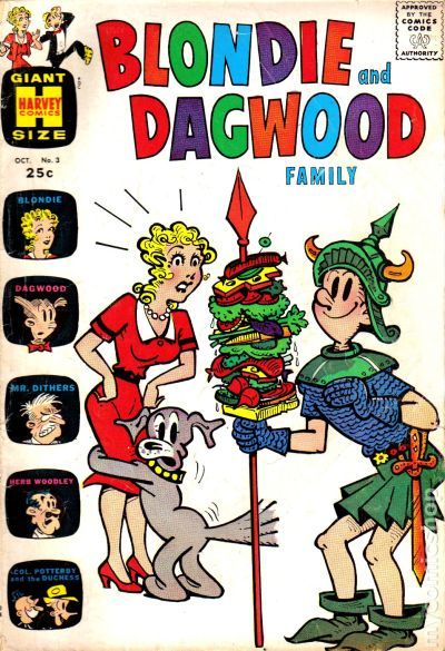 Blondie and Dagwood Family (1963) comic books