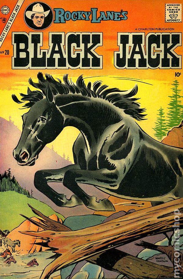 black jack  1957  comic books