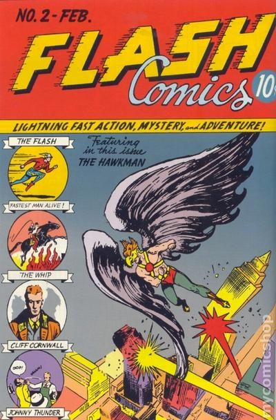 Flash Comics 1940 Dc Comic Books