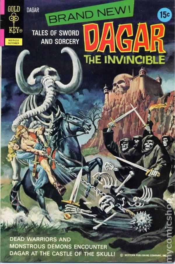 Dagar the Invincible (1972 Gold Key) comic books 1972