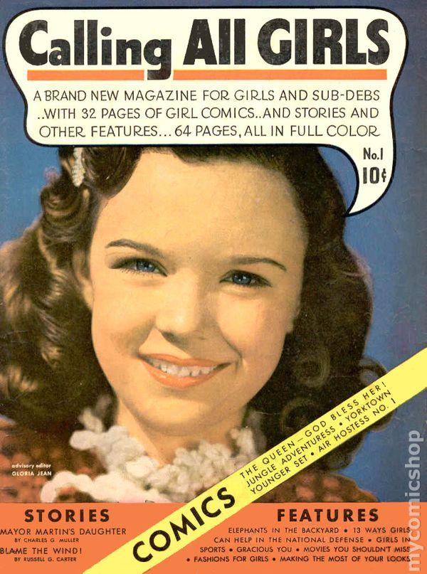 24ea7cd8035f Calling All Girls (1941-1949 Parents  Magazine) 1st Series comic books