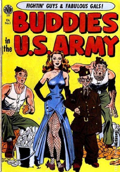 Buddies in the U S  Army (1952) 2 PR 0 5