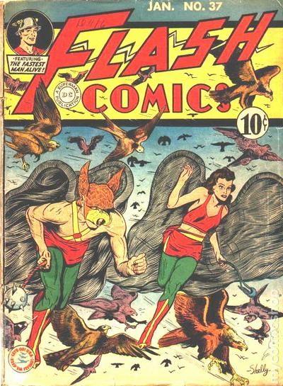 Flash Comics (1940 DC) Comic Books