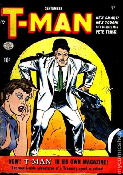 finest selection 6bb27 3fe4f T-Man (1951) comic books