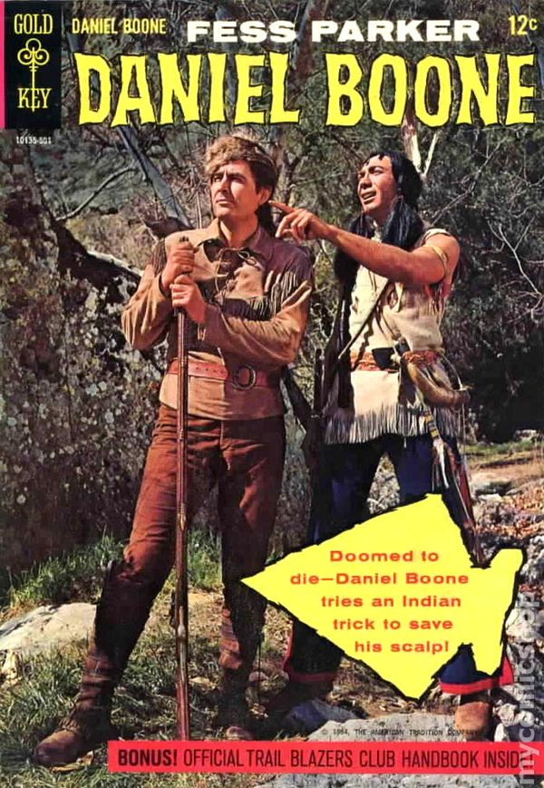 Image result for daniel boone comic book