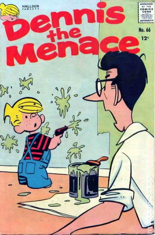 dennis the menace  1953 standard  pines  haliden  fawcett