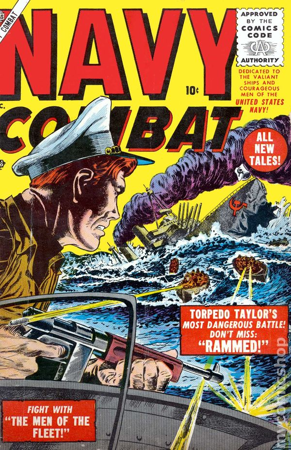 Navy Page 2 >> Navy Combat (1955) comic books