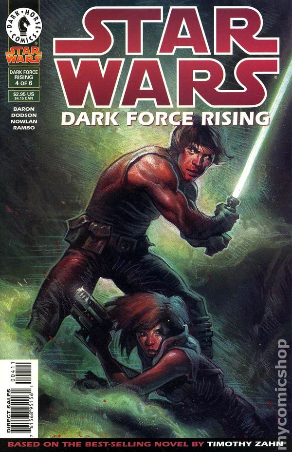Dark Force Rising (Star Wars: The Thrawn Trilogy, Vol. 2) by Timothy Zahn