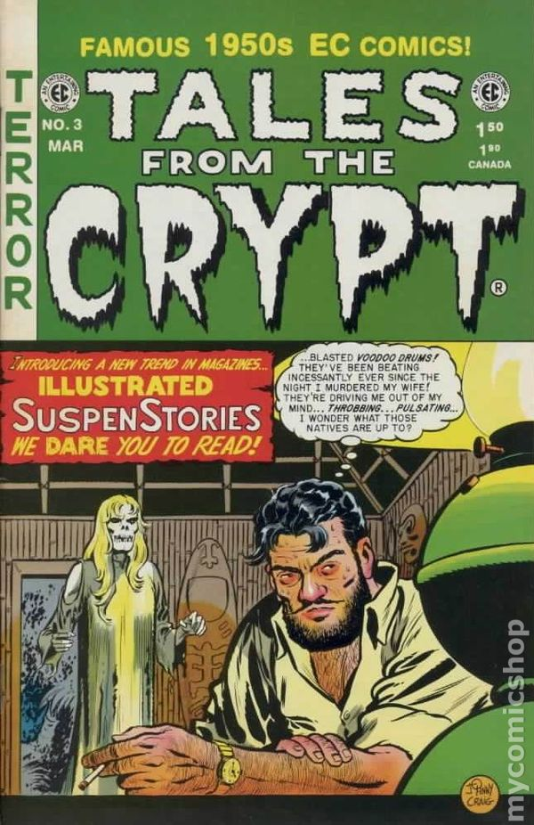 Tales From The Crypt 1992 Russ Cochran Gemstone 3