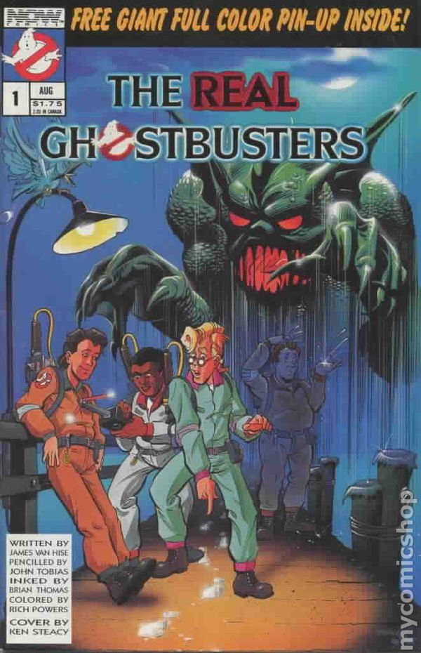 real ghostbusters 1988 comic books