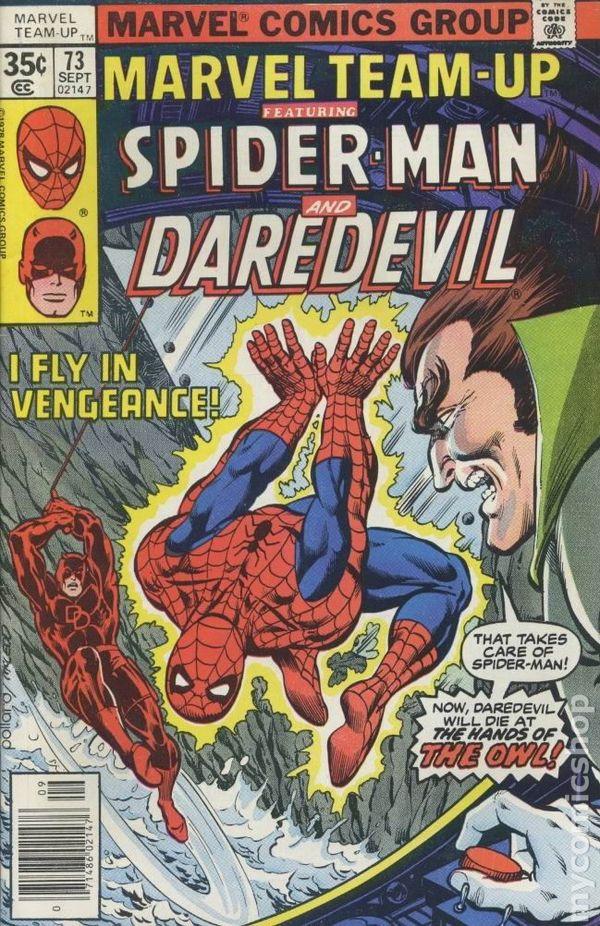 SPIDER-MAN  Death of SATANA Newsstand MARVEL TEAM-UP #81 Marvel Comics 1979