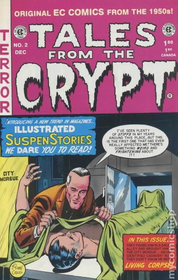 Tales From The Crypt 1992 Russ Cochran Gemstone 2
